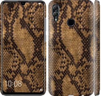 Чехол на Huawei Honor 10 Lite Змеиная кожа