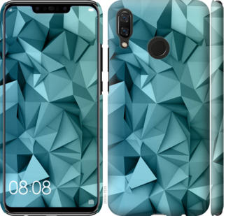 Чехол на Huawei Nova 3 Геометрический узор v2