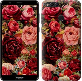Чехол на Huawei Honor 7X Цветущие розы