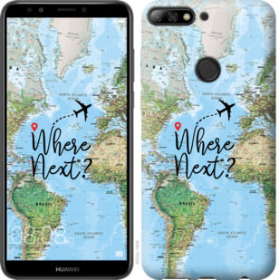 Чехол на Huawei Y7 Prime 2018 Путешествие