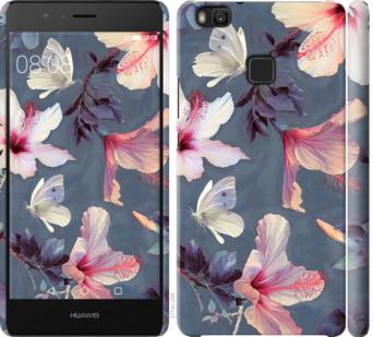 Чехол на Huawei P9 Lite Нарисованные цветы