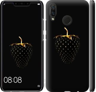 Чехол на Huawei Nova 3 Черная клубника