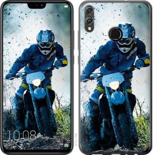 Чехол на Huawei Honor 8X Мотокросс
