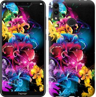 Чехол на Huawei Honor 8C Абстрактные цветы