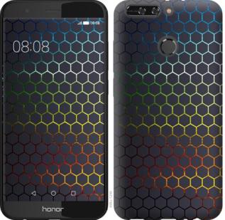 Чехол на Huawei Honor V9 / Honor 8 Pro Переливающиеся соты