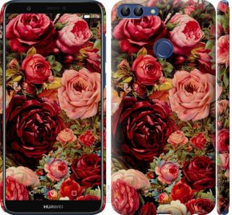 Чехол на Huawei P Smart Цветущие розы