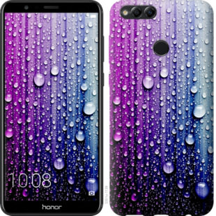 Чехол на Huawei Honor 7X Капли воды