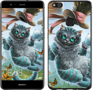Чехол на Huawei P10 Lite Чеширский кот 2