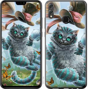 Чехол на Huawei Honor 8X Чеширский кот 2