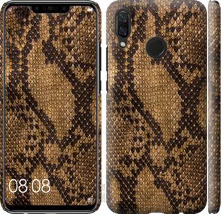 Чехол на Huawei Nova 3 Змеиная кожа