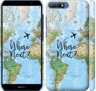 Чехол на Huawei Y6 2018 Путешествие