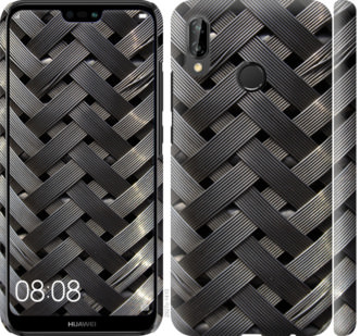 Чехол на Huawei P20 Lite Металлические фоны