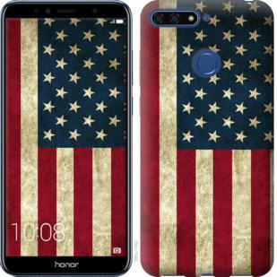 Чехол на Huawei Honor 7A Pro Флаг США