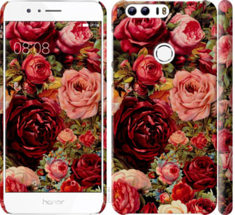 Чехол на Huawei Honor 8 Цветущие розы