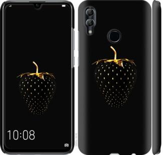 Чехол на Huawei Honor 10 Lite Черная клубника