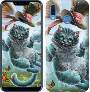 Чехол на Huawei Honor Play Чеширский кот 2