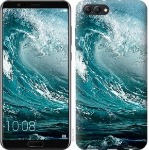 Чехол на Huawei Honor V10 / View 10 Морская волна