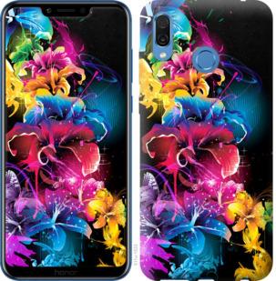 Чехол на Huawei Honor Play Абстрактные цветы
