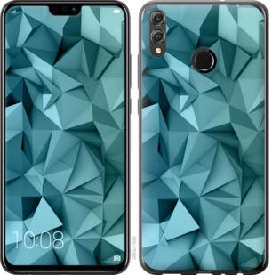 Чехол на Huawei Honor 8X Геометрический узор v2