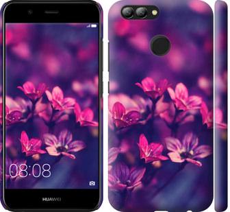Чехол на Huawei Nova 2 Пурпурные цветы