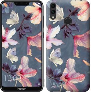 Чехол на Huawei Honor 8C Нарисованные цветы