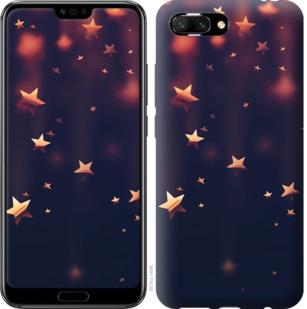 Чехол на Huawei Honor 10 Падающие звезды