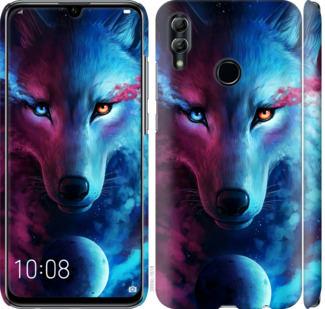 Чехол на Huawei Honor 10 Lite Арт-волк
