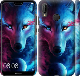 Чехол на Huawei P20 Lite Арт-волк