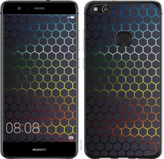 Чехол на Huawei P10 Lite Переливающиеся соты