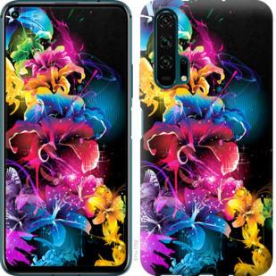 Чехол на Huawei Honor 20 Pro Абстрактные цветы