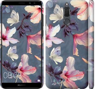 Чехол на Huawei Mate 10 Lite / Honor 9i Нарисованные цветы