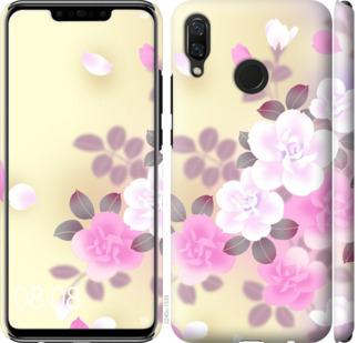 Чехол на Huawei Nova 3 Японские цветы