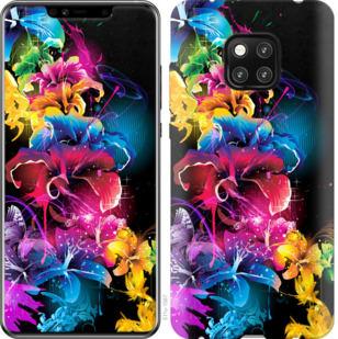 Чехол на Huawei Mate 20 Pro Абстрактные цветы