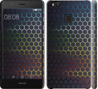 Чехол на Huawei P9 Lite Переливающиеся соты