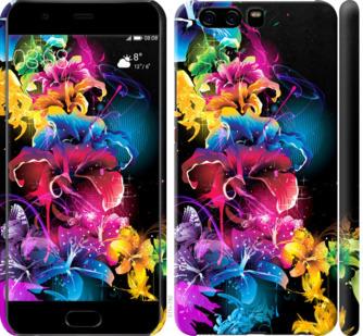 Чехол на Huawei P10 Абстрактные цветы