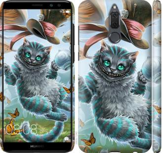 Чехол на Huawei Mate 10 Lite / Honor 9i Чеширский кот 2