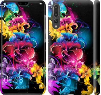 Чехол на Huawei P20 Pro Абстрактные цветы