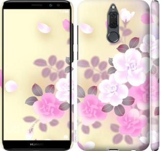 Чехол на Huawei Mate 10 Lite / Honor 9i Японские цветы