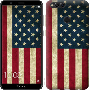 Чехол на Huawei Honor 7X Флаг США