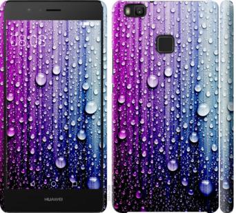 Чехол на Huawei P9 Lite Капли воды
