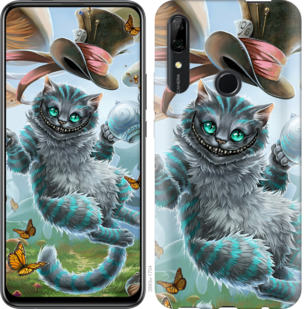 Чехол на Huawei P Smart Z Чеширский кот 2