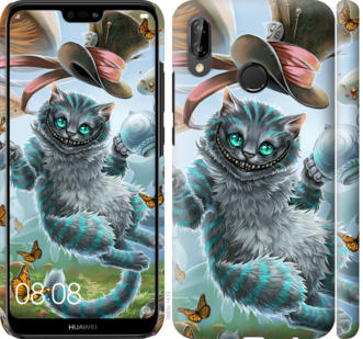 Чехол на Huawei P20 Lite Чеширский кот 2