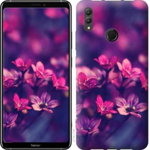 Чехол на Huawei Honor Note 10 Пурпурные цветы