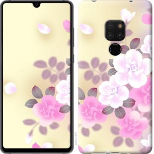 Чехол на Huawei Mate 20 Японские цветы