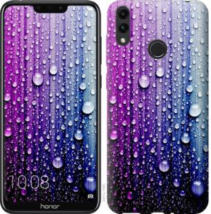Чехол на Huawei Honor 8C Капли воды