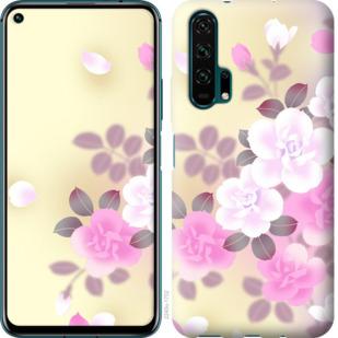 Чехол на Huawei Honor 20 Pro Японские цветы