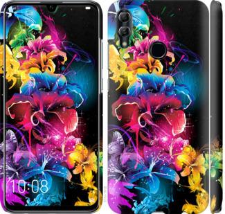 Чехол на Huawei Honor 10 Lite Абстрактные цветы