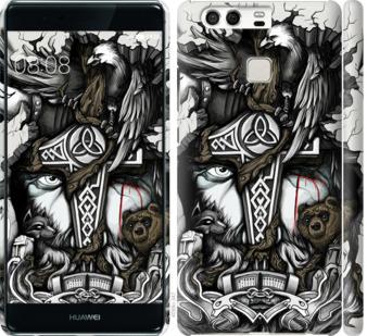 Чехол на Huawei P9 Тату Викинг