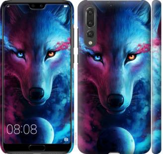 Чехол на Huawei P20 Pro Арт-волк