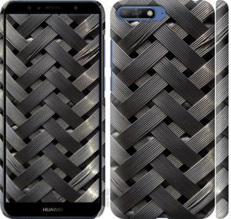 Чехол на Huawei Y6 2018 Металлические фоны